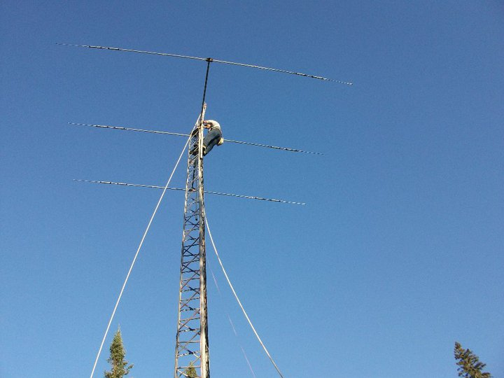 Here come the VHF/UHF antenna